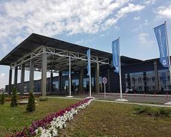 Монтаж автоматического паркинга в Аэропорте Анапа