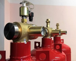 Модули газового пожаротушения