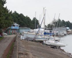 Монтаж видеонаблюдения яхт-клуба «Парус»