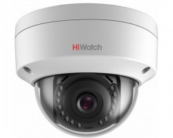 Уличная 4 Мп купольная вандалостойкая IP-камера HiWatch DS-I452 c ИК-подсветкой