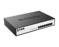 Коммутатор с 8 портами с поддержкой PoE D-Link DES- 1008P+