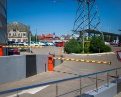 Монтаж и обслуживание СКУД закрытого паркинга торгово-офисного центра Boss House